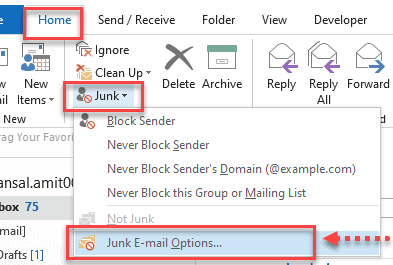 how do i fix outlook not receiving emails