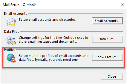 i can send emails but not receive outlook