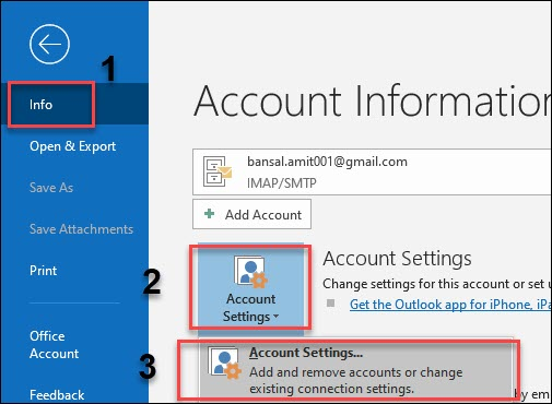 outlook file location