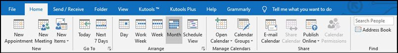 to do tab outlook