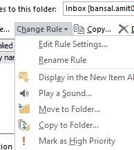 Change rule