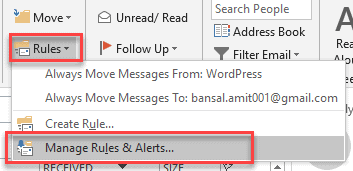 can you block emails on outlook