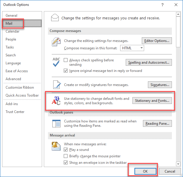 how to use publisher as stationary for outlook