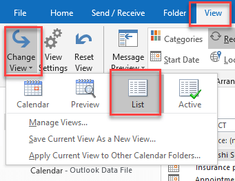 merge calendars in outlook