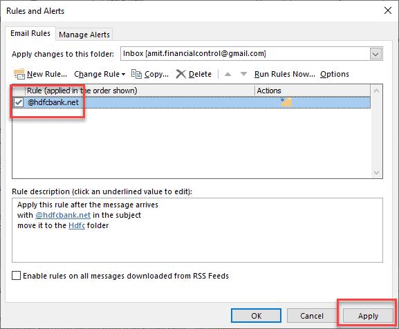 how to sort inbox in outlook