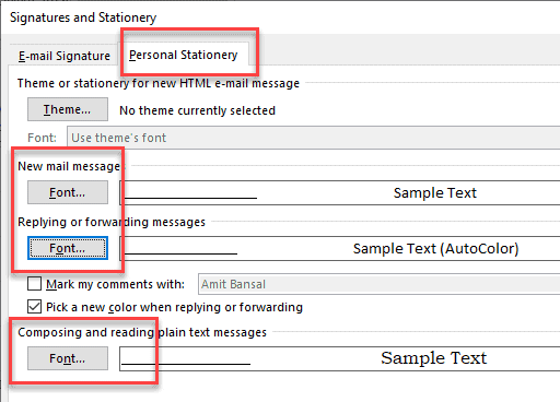 How to Increase Font Size in Microsoft Outlook