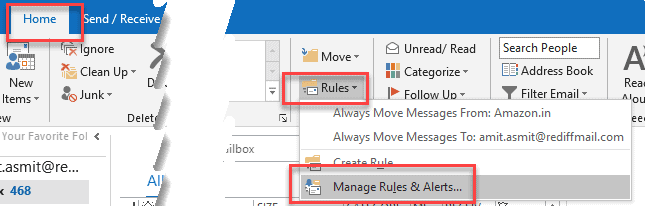 Group Emails in Outlook by Specified Color Categories