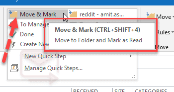 hover over the Quick Step