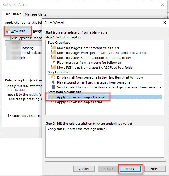outlook upgrade to color categories