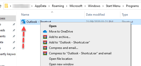 Disable Outlook From Opening on Startup