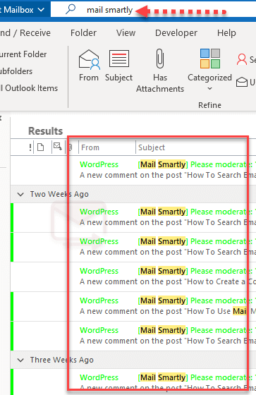 How conditional formatting Rules Work