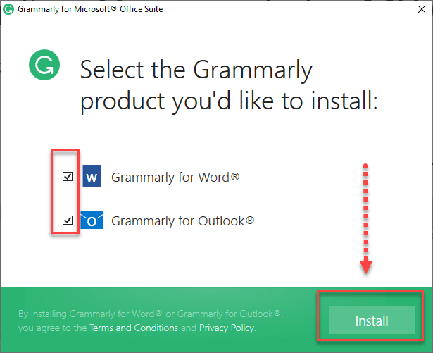 How to add Grammarly for Outlook