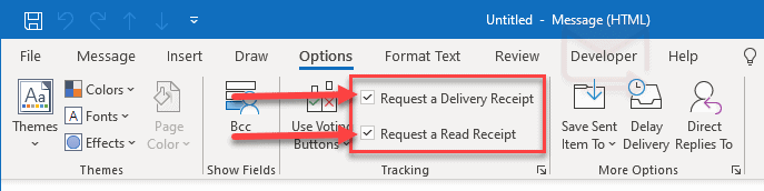 what happens when you decline a read receipt in outlook