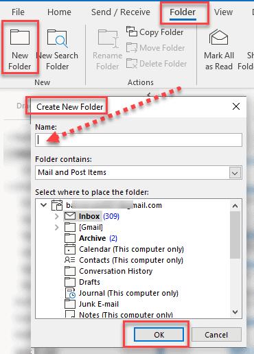 Unified Inbox Folder