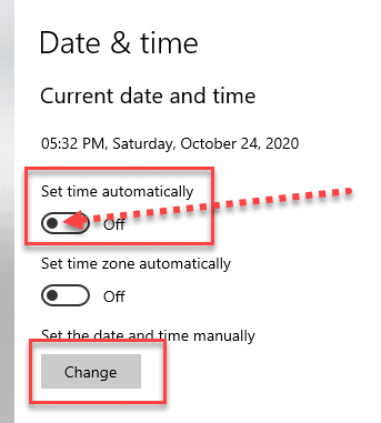 window date and time