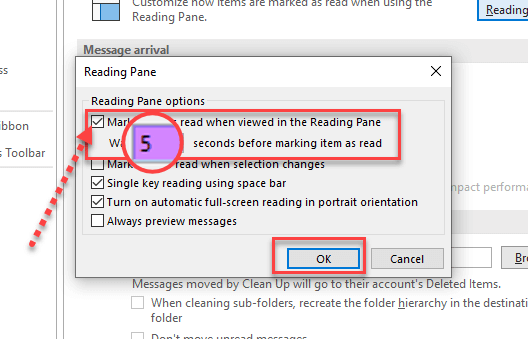 Mark item as read when selection changes