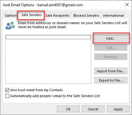 How To Block and Unblock an Email Address in Outlook