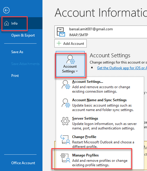 Where Does Outlook Store Emails