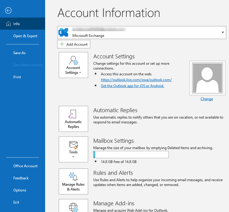 Where Is The File Tab in Outlook