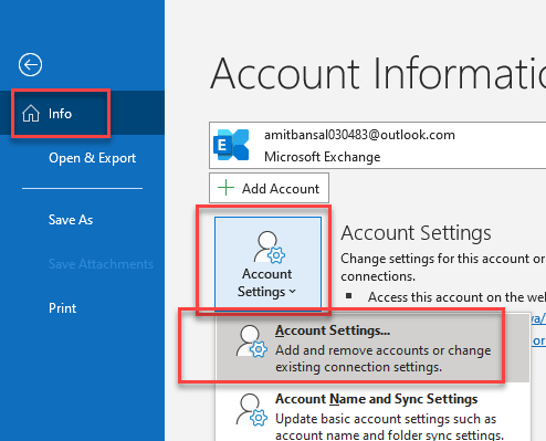 How To Change Display Name Outlook
