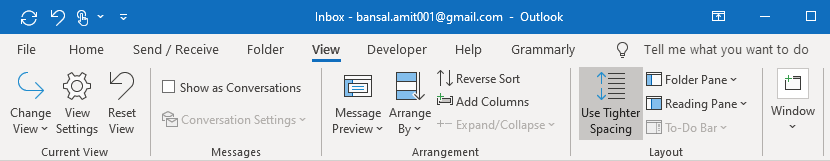 Old Mode Outlook