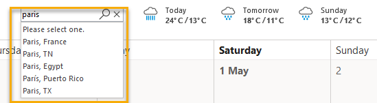 How toShow Or Hide The Weather Bar