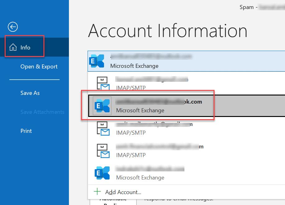 Exchange Accounts