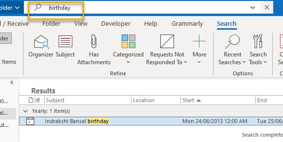 How To Remove Birthday Calendar From Outlook