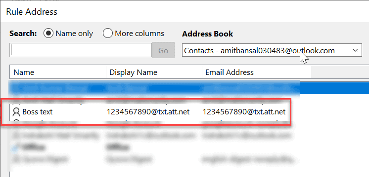 send new email notification to phone in outlook