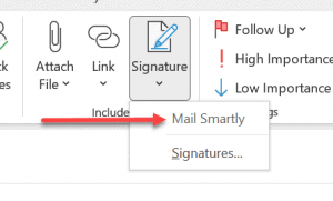 Create Multiple Signatures in Outlook